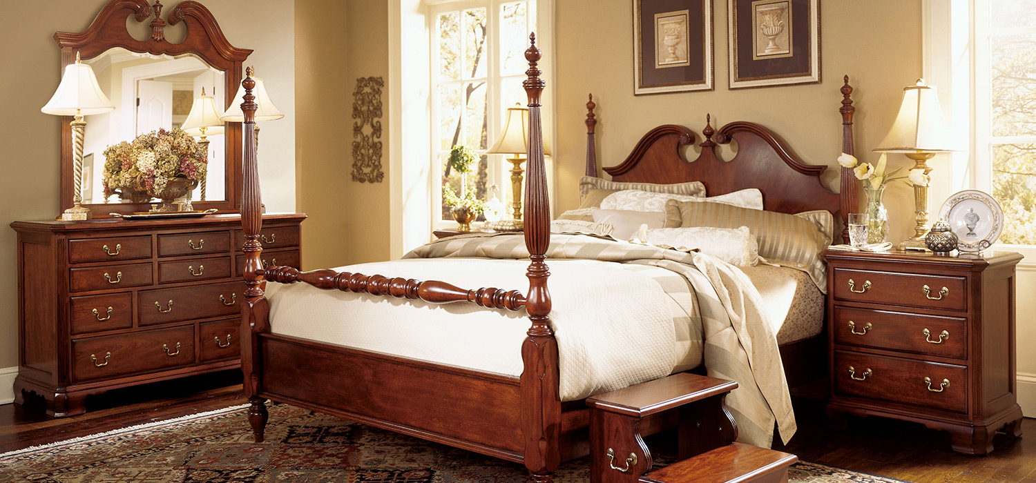 Cherry grove - American drew cherry bedroom set ...